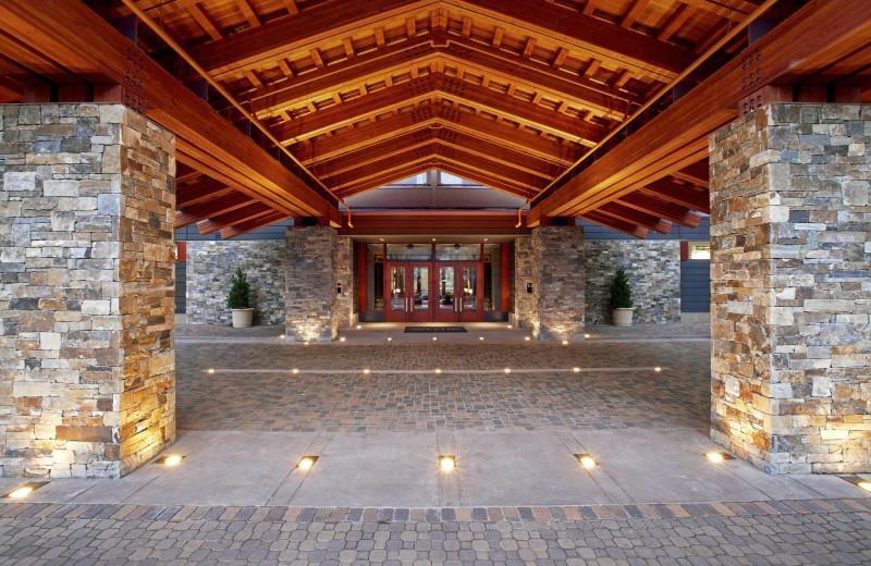 Entrance at The Westin Riverfront Resort & Spa.