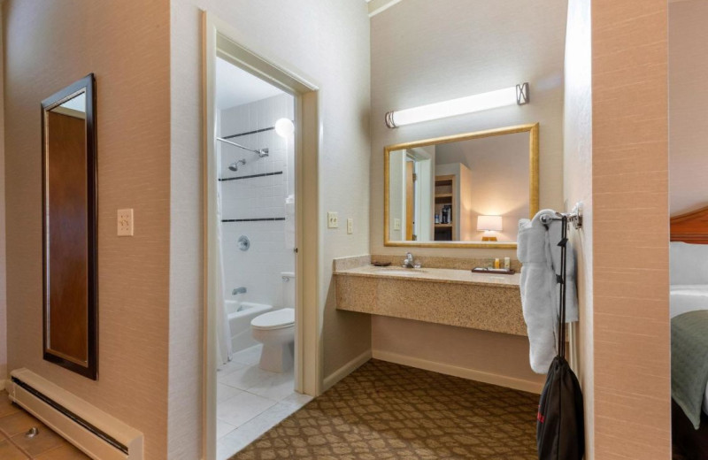 Guest bathroom at Gran-View On The River.