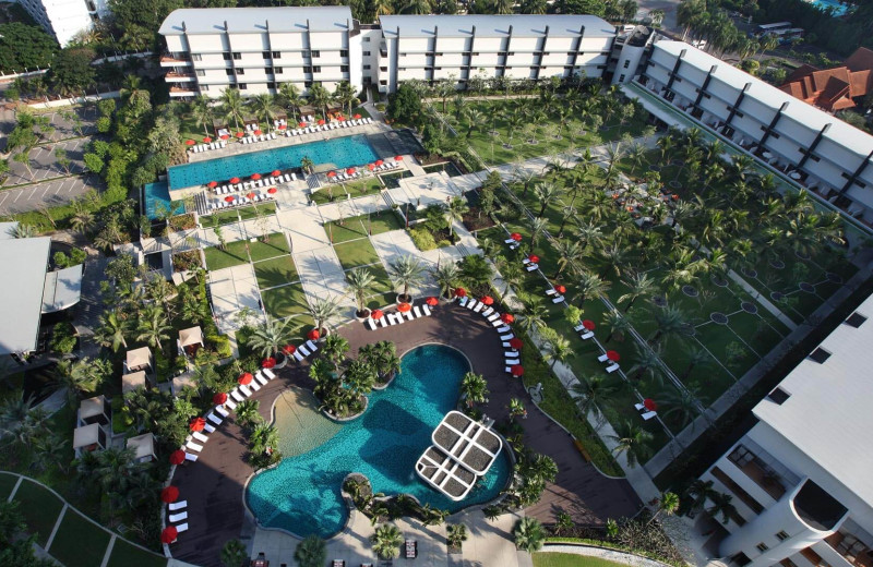 Aerial view at Amari Garden Pattaya.