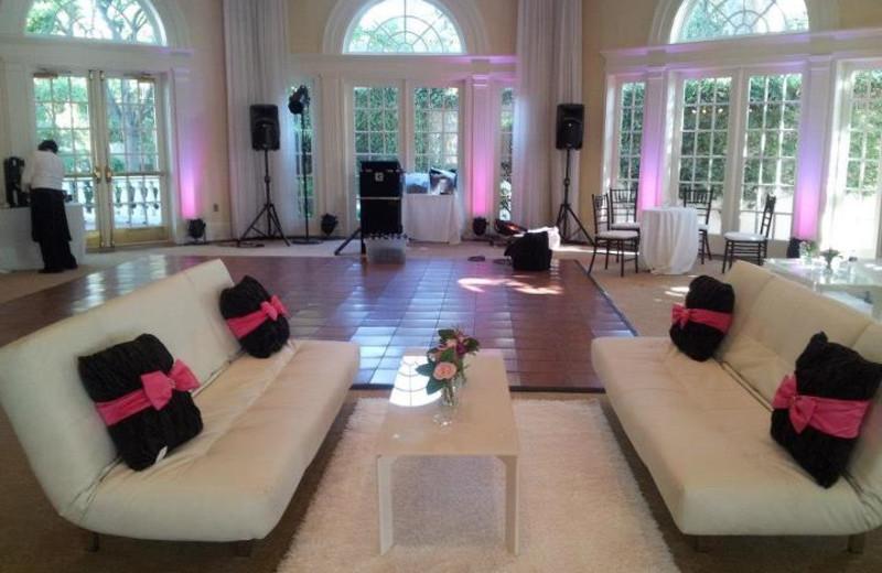 Interior view of Vizcaya Pavilion & Mansion.