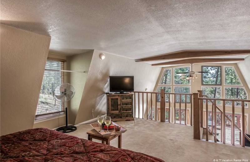 Rental loft bedroom at Vacation Rental Pros - Ruidoso.
