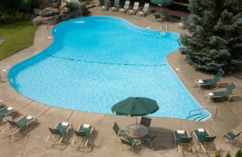 Outdoor pool at the Chateau Resort and Conference Center.