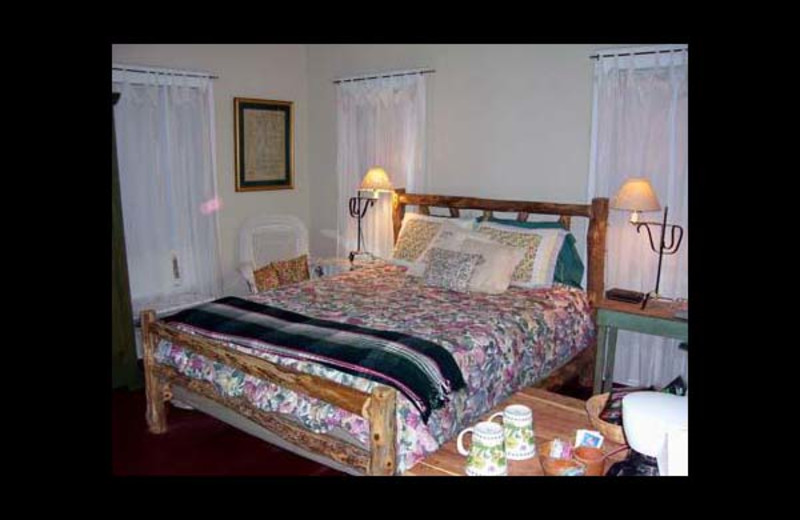Guest room at Briarfield Bed & Breakfast.