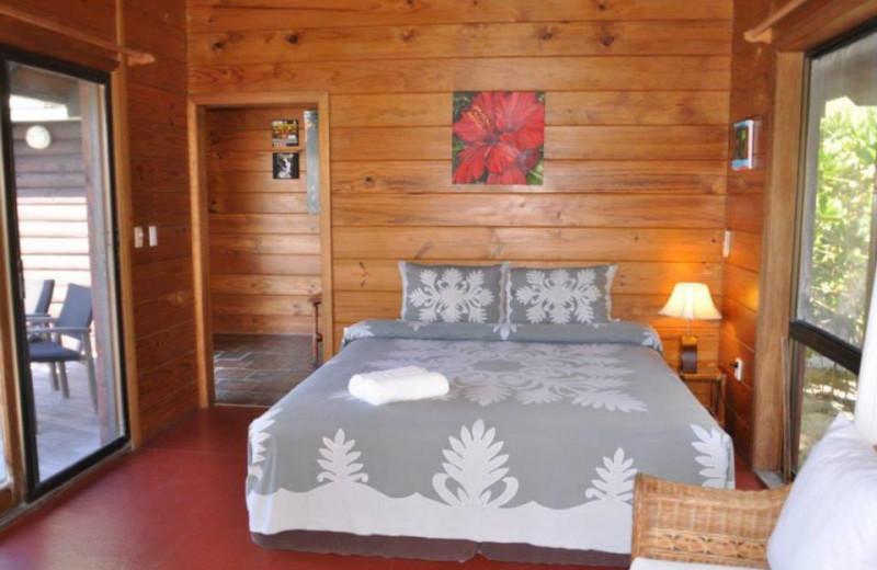 Guest room at Sokala Villas.