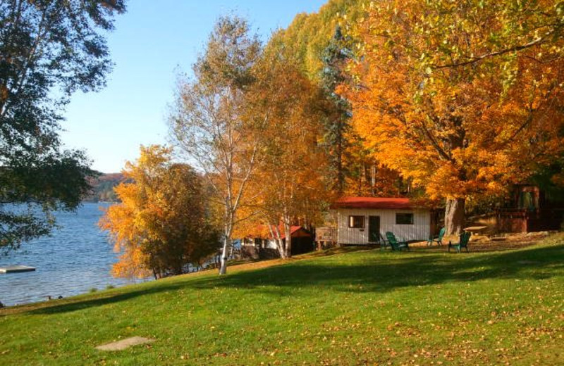 Fall at Lumina Resort.