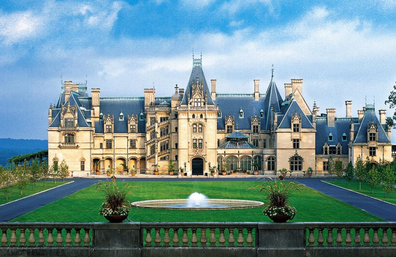 The Biltmore Estate near Yonder Luxury Vacation Rentals.