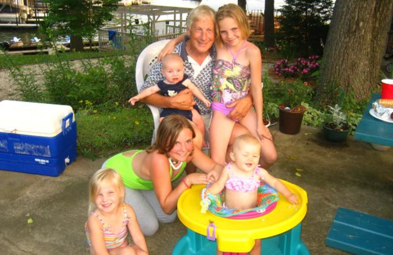 Family at Sunset Inn Resort.