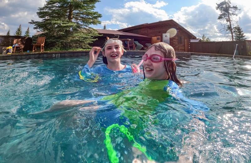 Outdoor pool at Vista Verde Ranch.