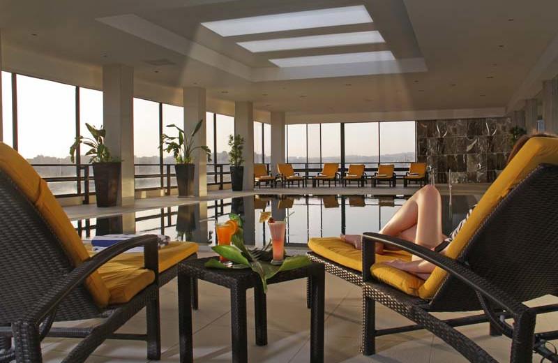 Indoor pool at Regency Palace Amman.