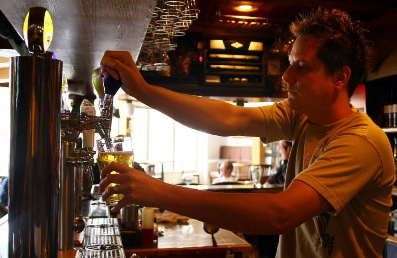 Drinks at Whistlers Inn.