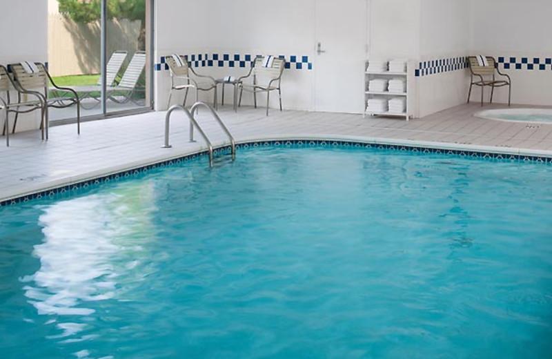 Indoor pool at Fairfield Inn Port Huron.