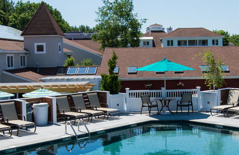 Outdoor pool at The Meadowmere Resort.