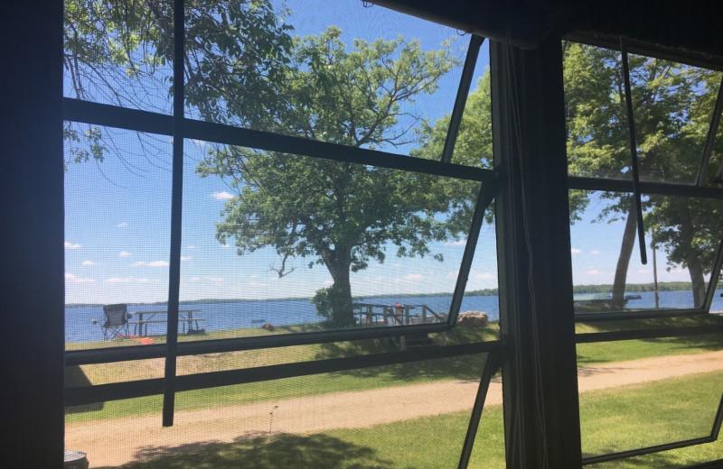 View from Ebert's North Star Resort.