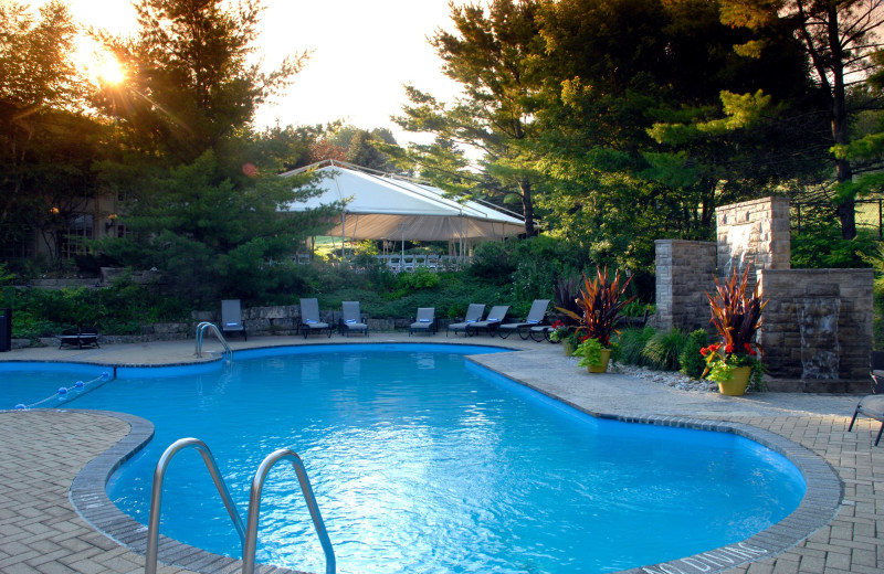 Outdoor pool at Hockley Valley.