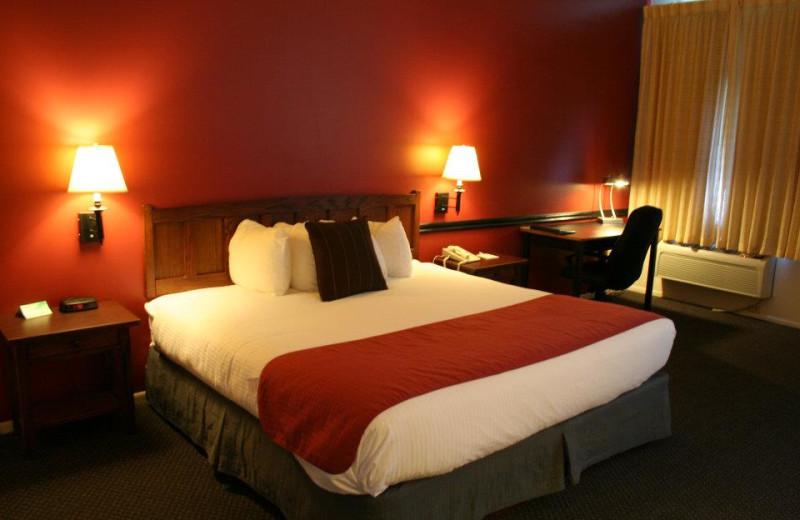 Guest Room at the Best Western PLUS KwaTaqNuk Resort