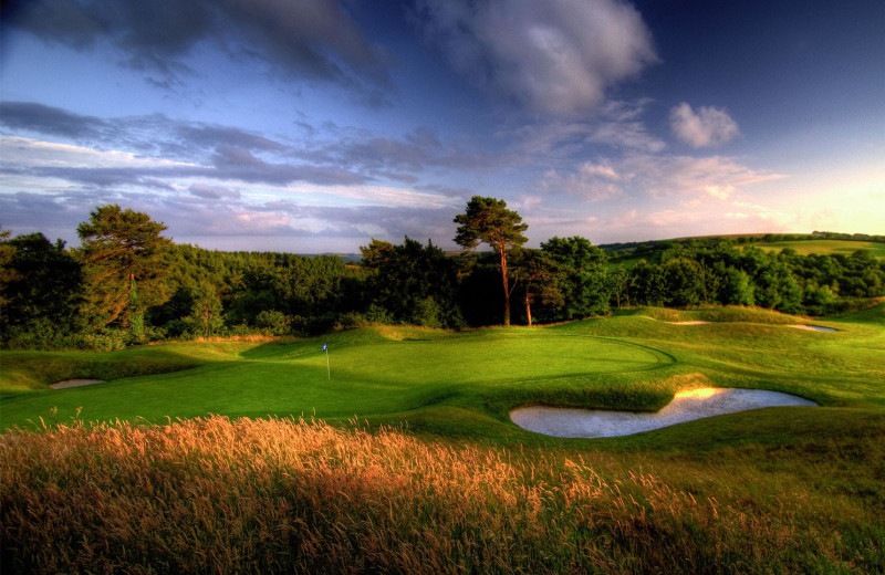 Golf course at St Mellion Hotel, Golf & Country Club.