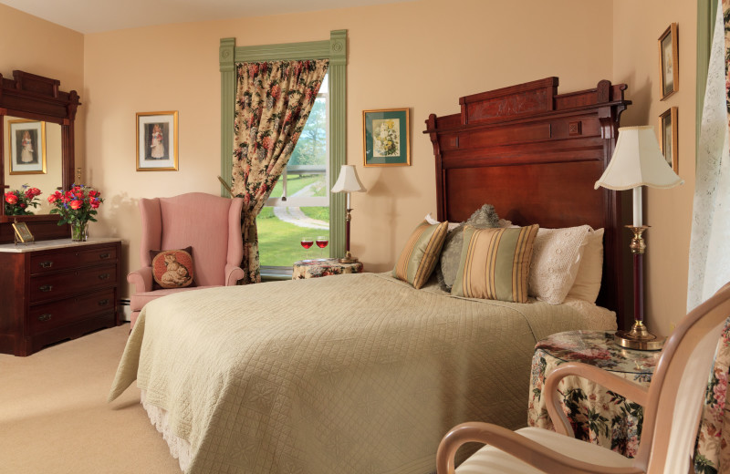 Guest room at Afton Mountain Bed and Breakfast.