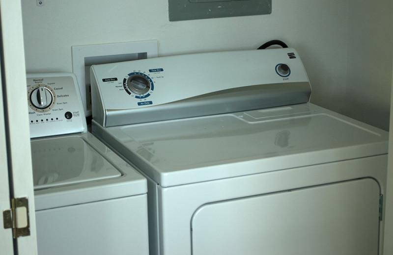 Laundry at D'Arbonne Pointe.