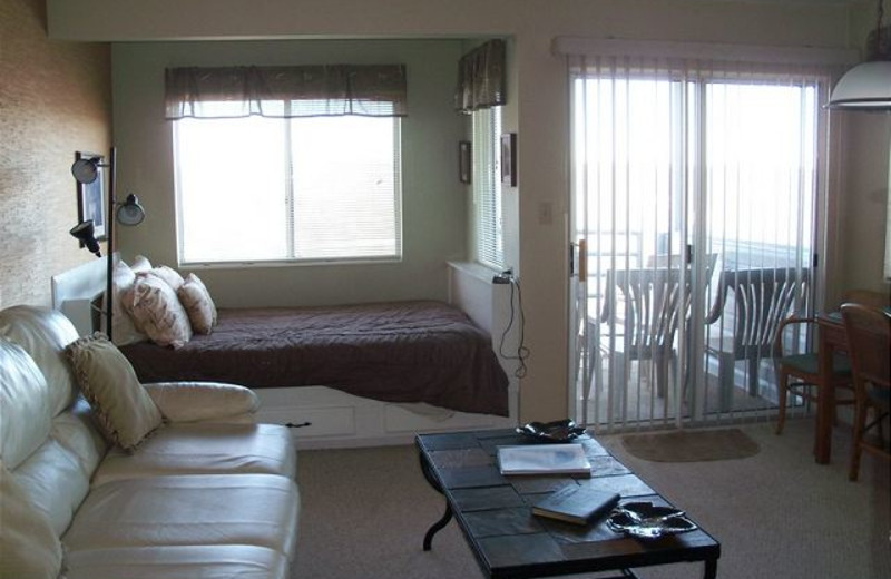 Rental interior at Sugar Ski and Country Club.