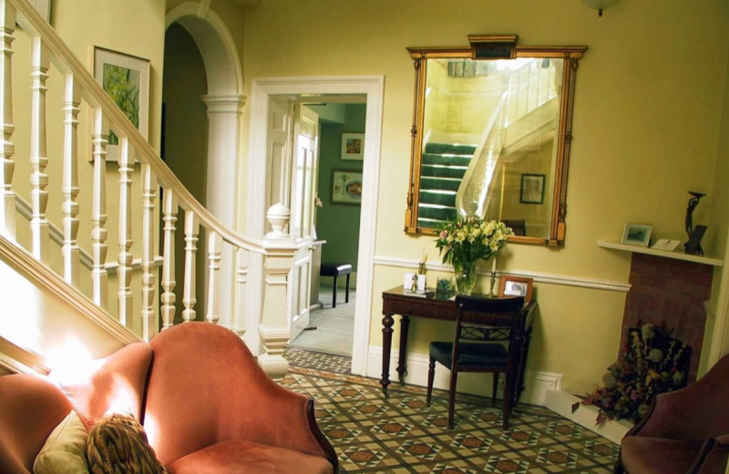Interior view of Well House Hotel.