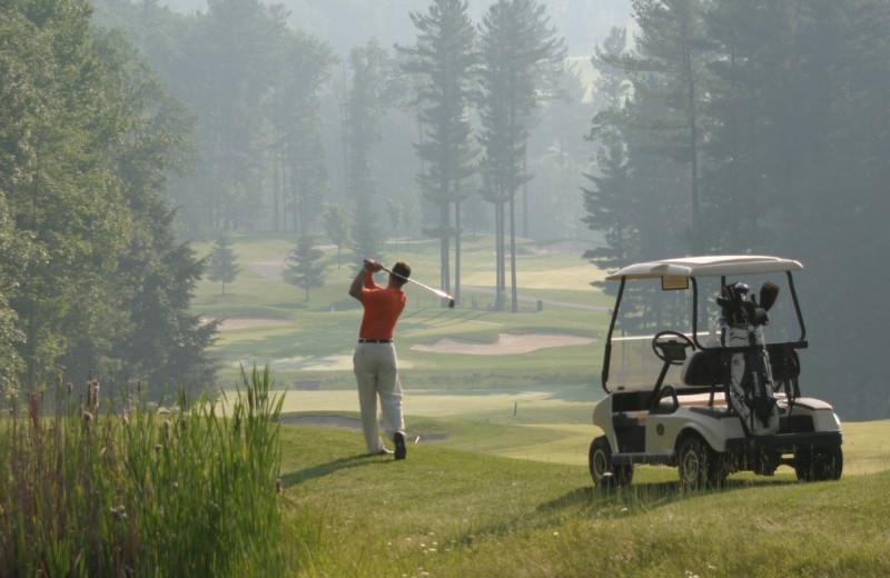 Golf at Woodloch Resort.