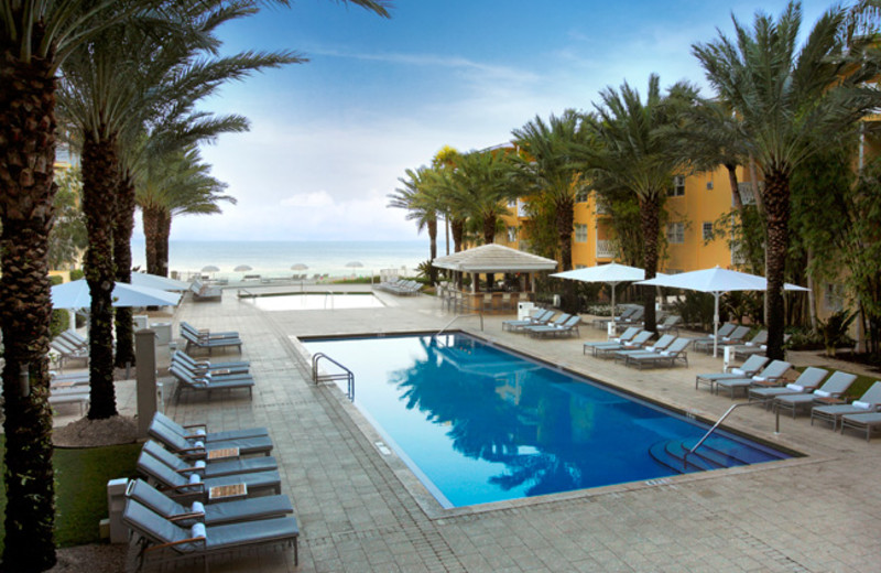 Outdoor pool at Edgewater Beach Hotel.