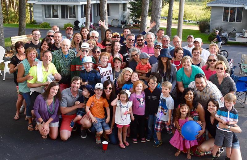 Groups at Nitschke's Northern Resort.