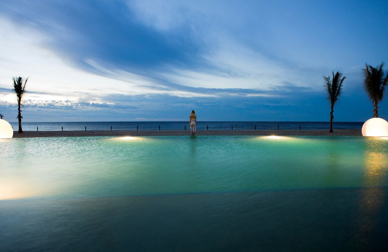 Infinity Pool at Barcelo Los Cabos