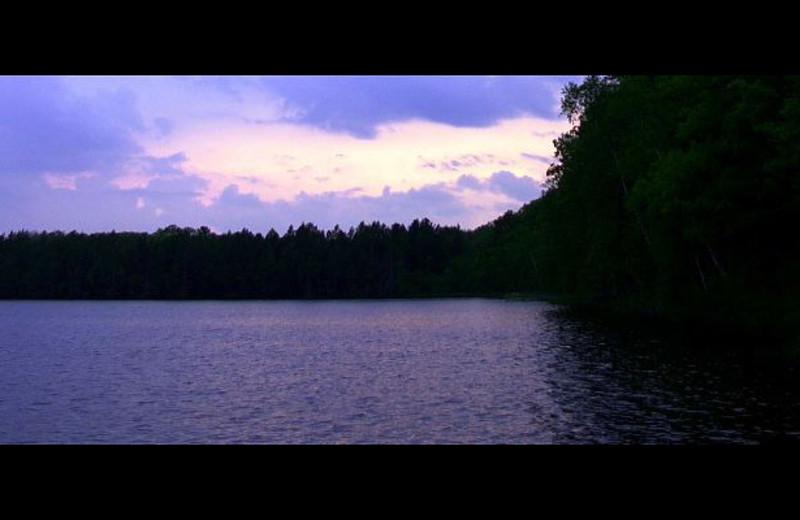 Lake view at Still Waters Executive Retreat.