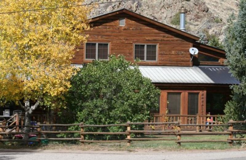Vacation home at Three Rivers Resort.