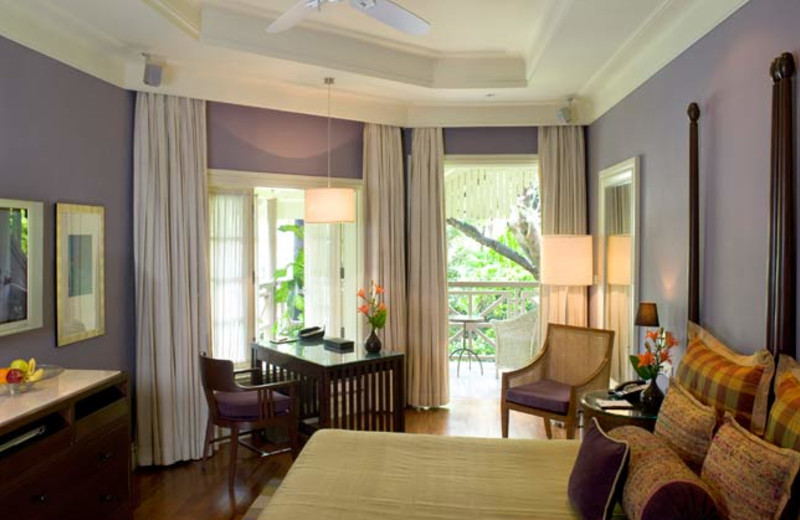 Guest room at The Taj West End.