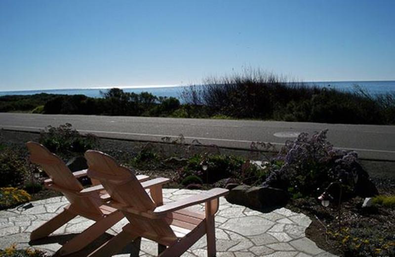Relaxing at Sea Otter Inn.