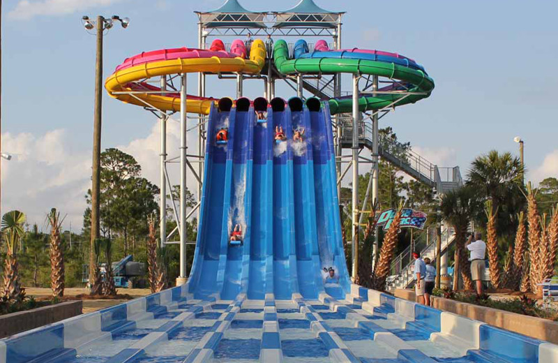 Waterpark near Lucky Bird Vacations.