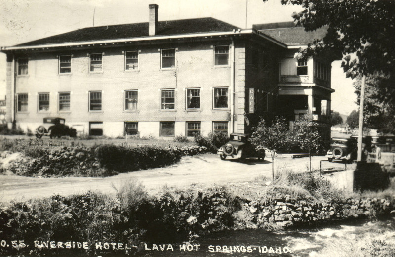 Historic photo of Riverside Hot Springs Inn & Spa.