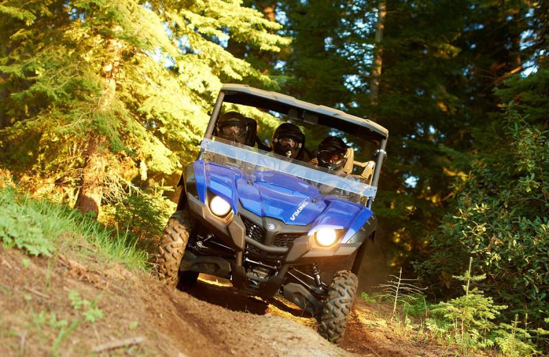 ATV at Deerstalker Resort.