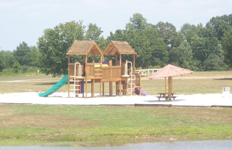 Playground at Big Buck Resort.