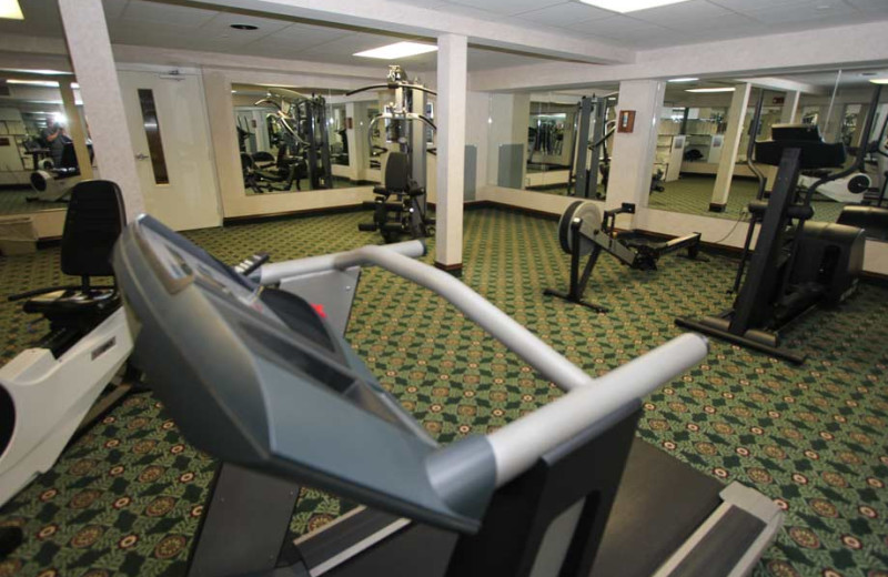 Fitness room at  Bayshore Resort.
