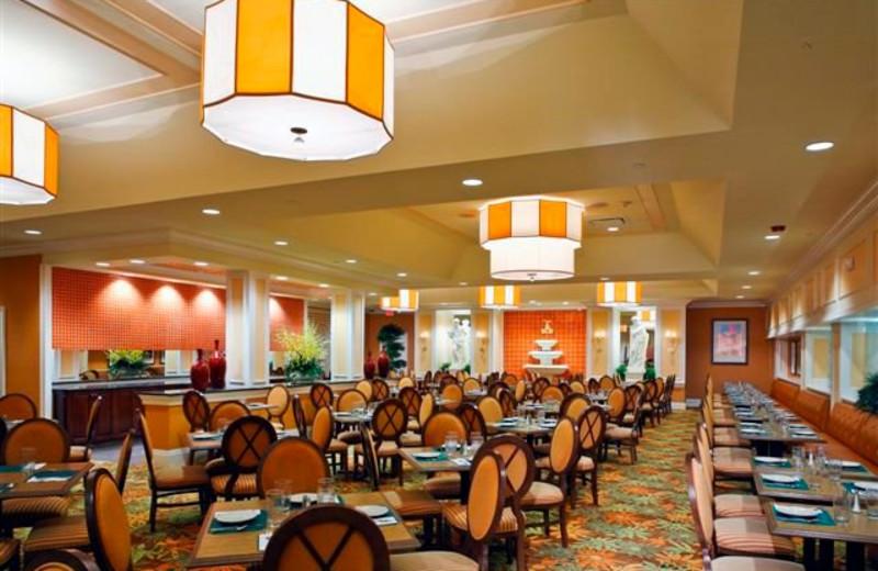 Dining area at Villa Roma Resort.