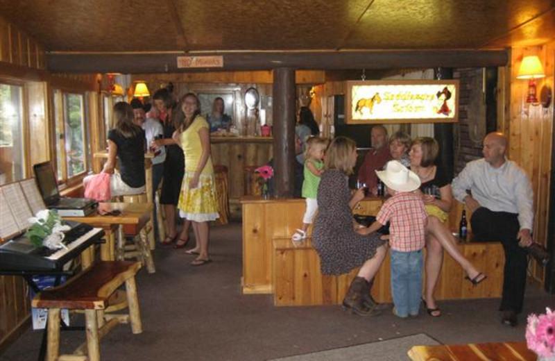 Lodge Interior at Bill Cody Ranch