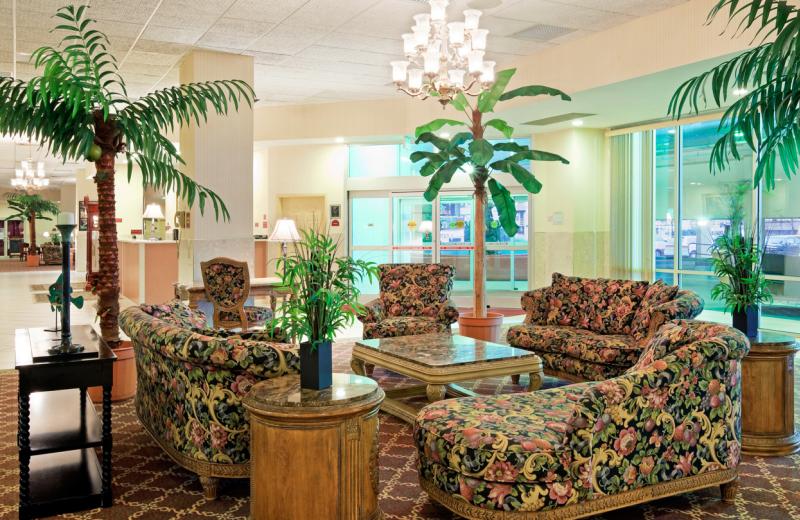 Lobby view at Grand Hotel & Spa.