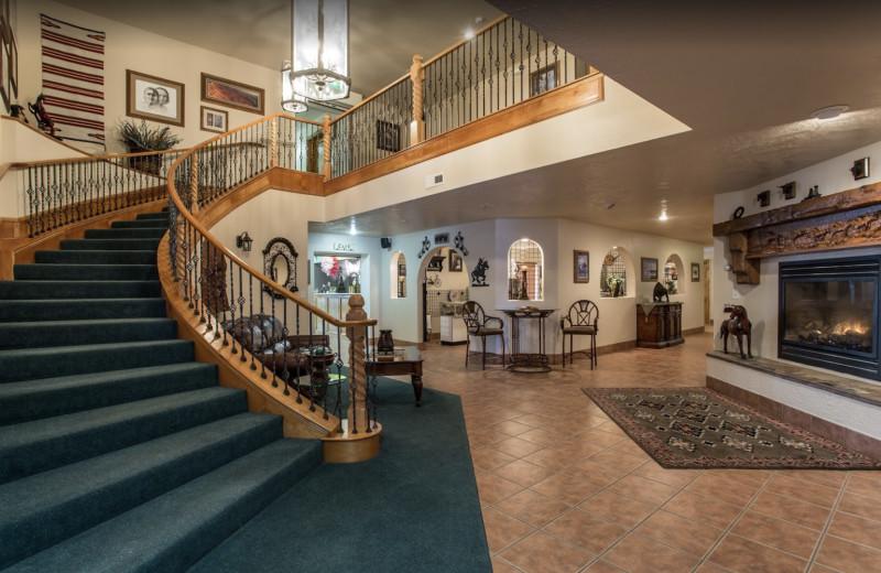 Lobby at The Snuggle Inn.