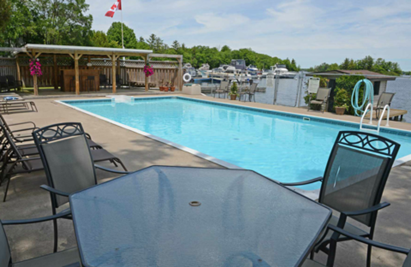 Outdoor pool at Sunnylea.
