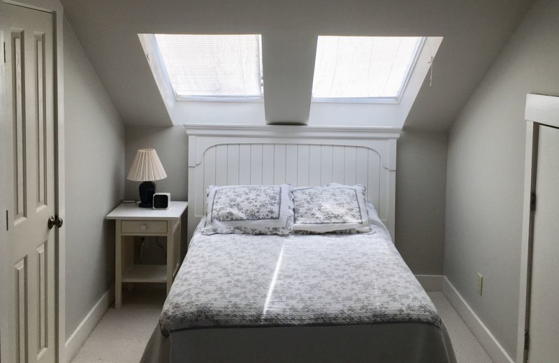Rental bedroom at Mary Munroe Realty: Bald Head Vacations & Sales.