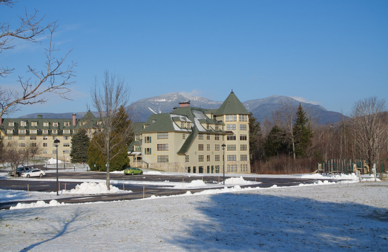 Exterior view of Waterville Valley Resort Association.