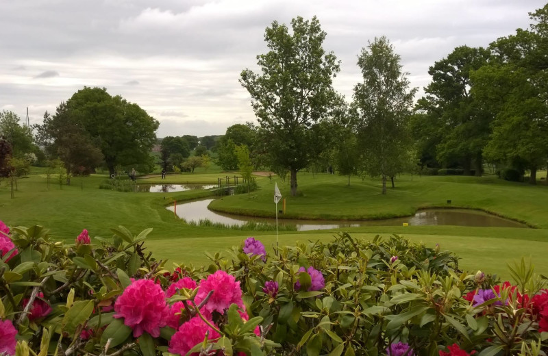 Golf course at Nailcote Hall Hotel, Golf and Country Club.