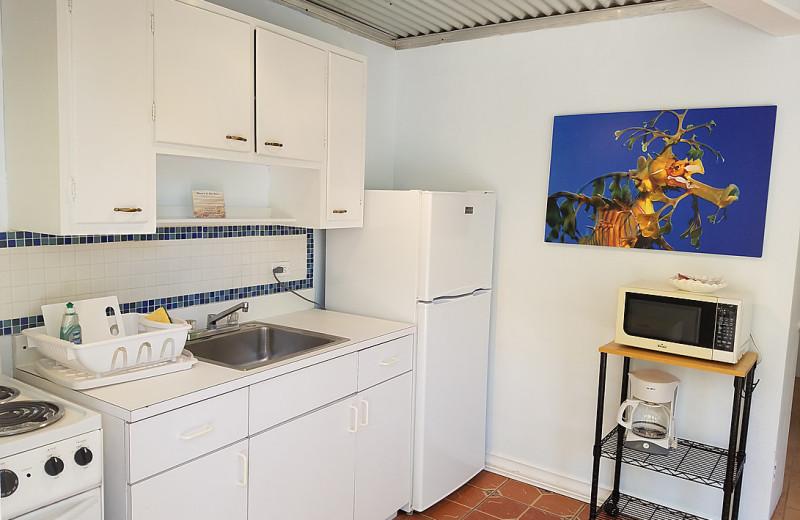 Guest kitchen at La Jolla Resort Hotel.