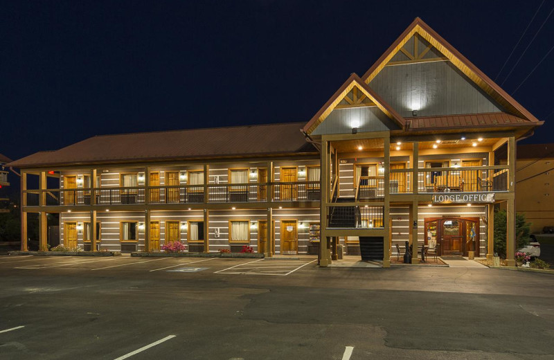 Exterior view of Timbers Lodge.