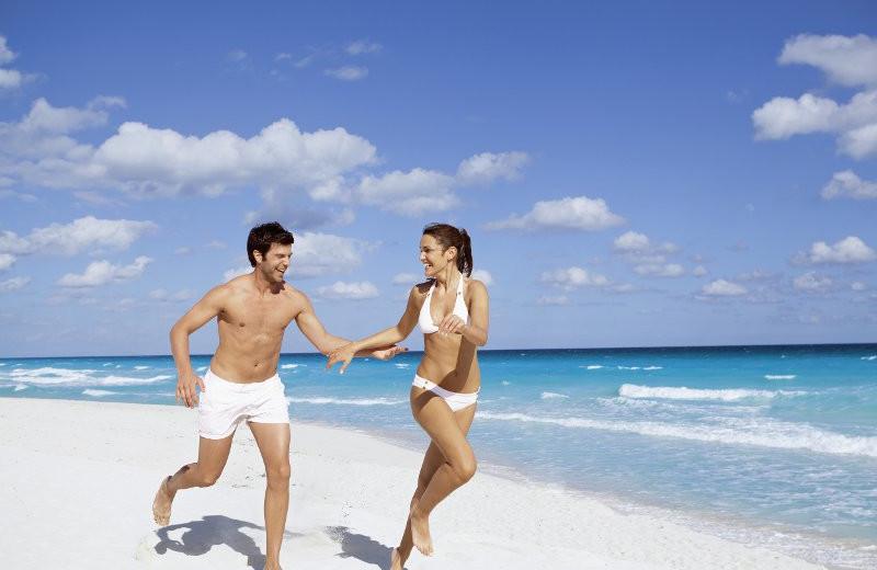 Fun at the Beach at Barcelo Tucancun Beach