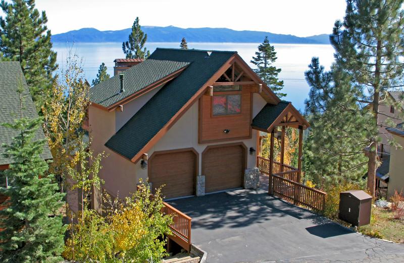 Rental exterior at Tahoe Getaways.