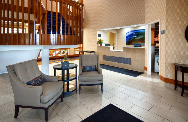 Lobby at Best Western - Benton Harbor.